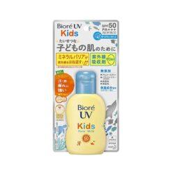 비오레 UV  성장하는 어린이 밀크  SPF50+ PA++++ 90g_키즈선크림