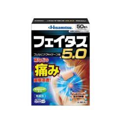 페이타스 5.0 파스 50매입
