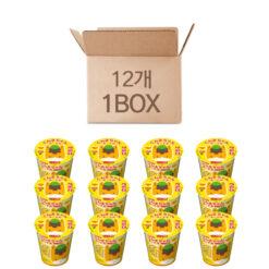오구 식품 군마 짱 국수 (간장 맛) 63g x 12개 세트