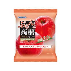 오리히로 곤약젤리 파우치 사과 (6개입)