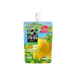 오리히로 곤약젤리 스탠딩 세토우치 레몬 봄여름 한정 130g