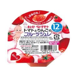 큐피베이비디저트토마토와사과과일젤리70g
