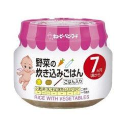 큐피이유식야채밥밥70g