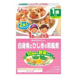 1세부터유아식흰살생선과녹미채의일본식조림85gx2
