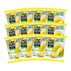오리히로 곤약젤리 파우치 시칠리아 레몬 (6개입) x 12개 세트