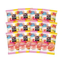 오리히로 곤약젤리 파우치 피치+핑크자몽 (12개입) X12봉 세트