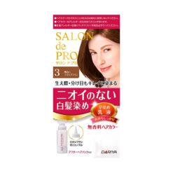 다리야 일본 살롱드프로 염색유액 3밝은 라이트 브라운