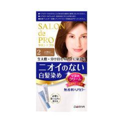다리야 일본 살롱드프로 염색크림백발용 염색 크림 2더 밝은 브라운