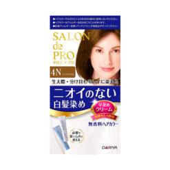 다리야 일본 살롱드프로 염색크림백발용 염색 크림 4n 너트 브라운