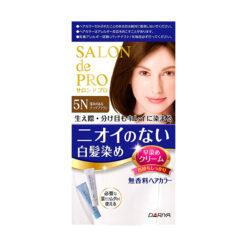 다리야 일본 살롱드프로 염색크림백발용 염색 크림 5n깊이가 있는 우아한 갈색