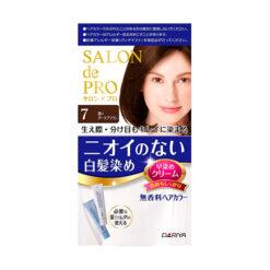다리야 일본 살롱드프로 염색크림백발용 염색 크림 7깊은 다크 브라운
