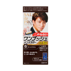 다리야 일본 살롱 드 프로 남성 염색상품백발용 원터치 6다크 브라운
